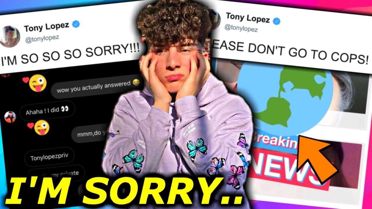 TONY LOPEZ COULD GO TO PR1$0N FOR THIS + HYPE HOUSE $C@MS FANS.. *HIS RESPONSE*