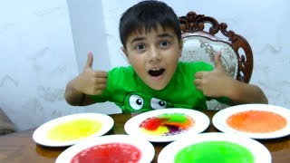 Easy DIY Kids Science Experiments with Skittles and Guka