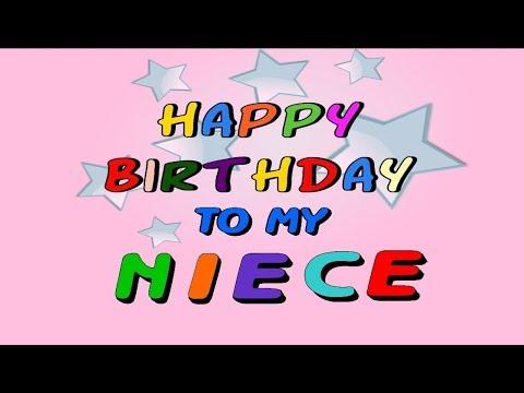 Happy Birthday To My Niece Youtube