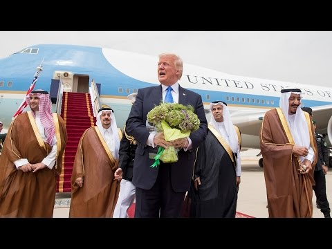 "Trump Bails in Saudi Arabia Due to ""Exhaustion"""