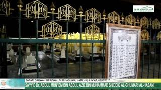 Ziarah Syekh Abdul Mun'im Ke Makam KH. Sholeh Darat, Masjid Agung Demak dan Sunan Kalijaga