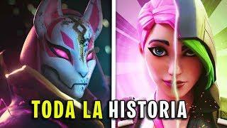 TODA LA HISTORIA OCULTA de FORTNITE (Capítulo 1 - 2) en UN VIDEO