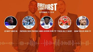 First Things First Audio podcast (9.11.19)Cris Carter, Nick Wright, Jenna Wolfe | FIRST THINGS FIRST
