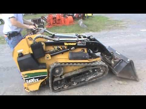 2008 Vermeer S400tx Mini Rubber Track Skid Steer Loader