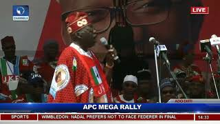 Let Us Develop Ekiti Like We Did Lagos, Tinubu Tells Indigenes Pt.14 |Live Event|