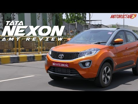Tata Nexon AMT Review in Hindi | MotorOctane