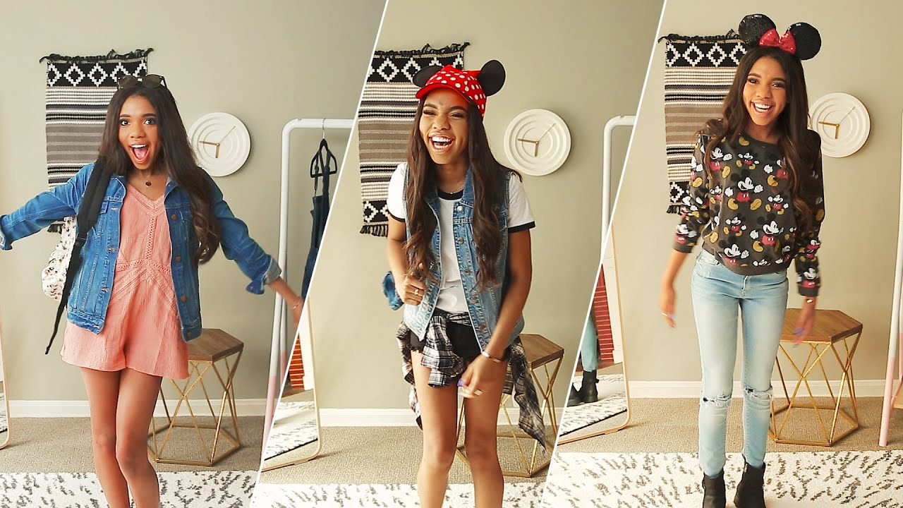 3 Disneyland Outfits With Teala Dunn What To Wear