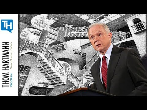 Jeff Sessions's America Is Where The Victim Is Charged With The Crime (Greg Palast)