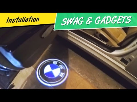 Bmw Welcome Logo Light Easy Just Plugging Install E92
