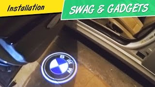 How to Install BMW Door Welcome Lights - 3D Shadow Projector Logo Lights - 3D Laser Shadow Lights(Step by Step Installation Video of BMW Door Welcome Lights - 3D Shadow Projector Logo Lights - 3D Laser Shadow Lights. These lights are direct plug n play ..., 2016-05-18T21:38:00.000Z)