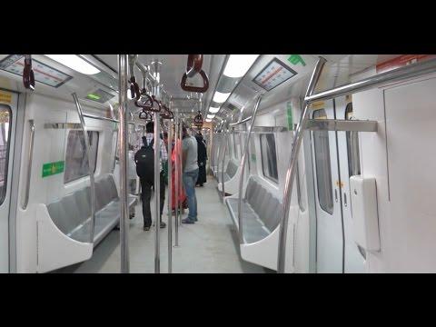 GRAND JAIPUR METRO - Full Train Journey Coverage - Inside & Outside !!!