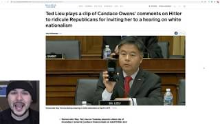 Candace Owens SLAMS Ted Lieu For SMEARING Her With Contextless Clip