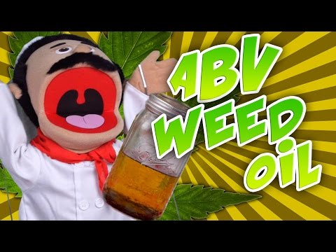 How to Make ABV Weed Infused Oil with Chef Luigi
