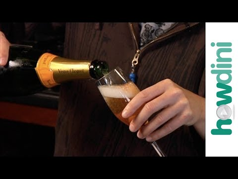 Rachel Maddow: How to make a champagne cocktail