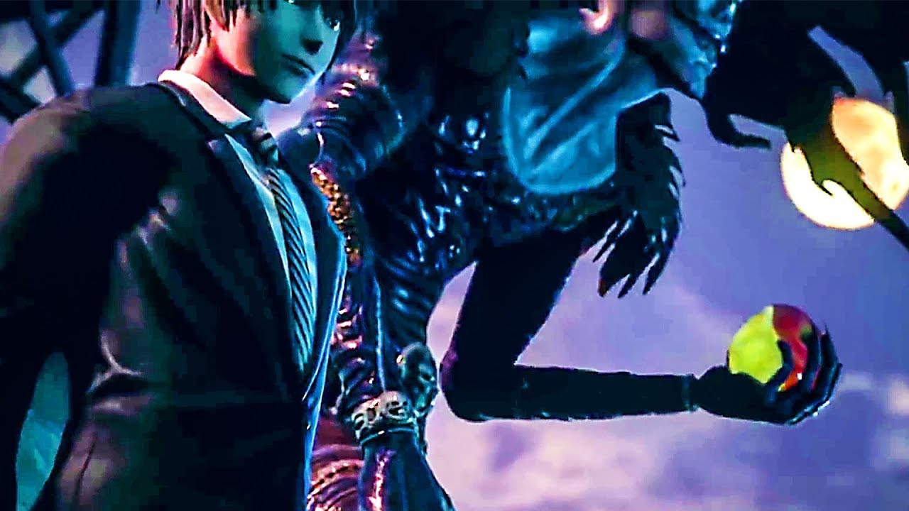 JUMP FORCE : Yagami Light & Ryuk Bande Annonce (Death Note, 2018) PS4 / Xbox One / PC