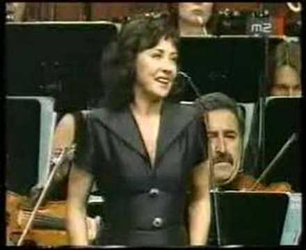 Andrea Rost Caro nome...Gilda's aria from Verdi: Rigoletto
