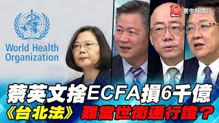 P2蔡英文捨ECFA損6千億 《台北法》難當世衛通行證?|寰宇全視界20200328