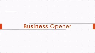 Business Opener After Effects Templates