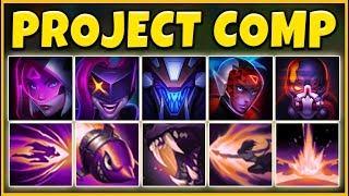 PROJECT TEAM COMP 2019 (FIVE NEW SKINS) 5V5 PROJECT SKINS - League of Legends