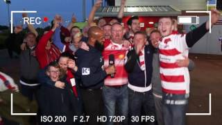 Leigh 50-34 Wigan - UK Red Security Fan Cam