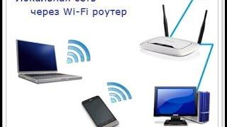 Налаштування домашньої мережі через роутер
