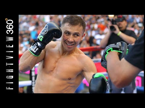 GGG LOST A STEP? SLOW? GGG MEDIA WORKOUT HIGHLIGHTS 8/26 LA! CANELO GGG 2 PREVIEW! HBO PPV 9/15!