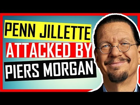 Penn & Teller - ATTACKED by Piers Morgan - INTERVIEW by Kevin Durham