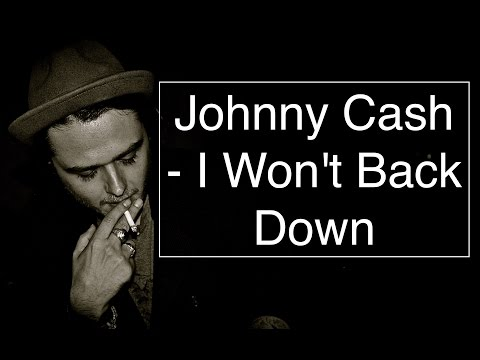 Johnny Cash - I Won't Back Down [Guitar Tuto/Lesson/Cover With CHORDS]