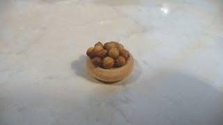 Dollhouse Miniature Walnuts