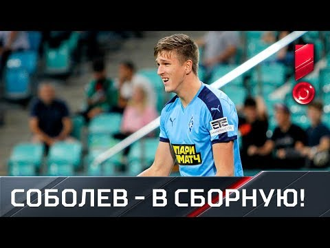 Лучший бомбардир РПЛ в сборной. Результативные действия Александра Соболева в начале сезона 2019/20