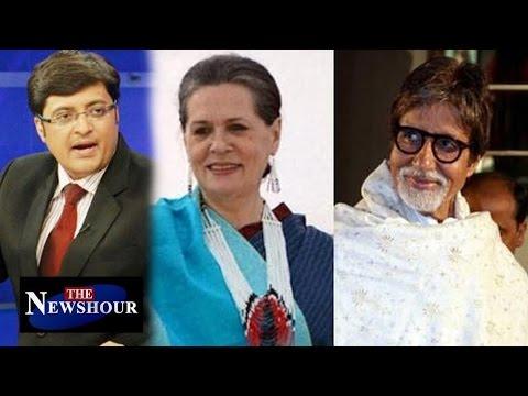 Gandhis VS. Amitabh Bachchan Over Modi