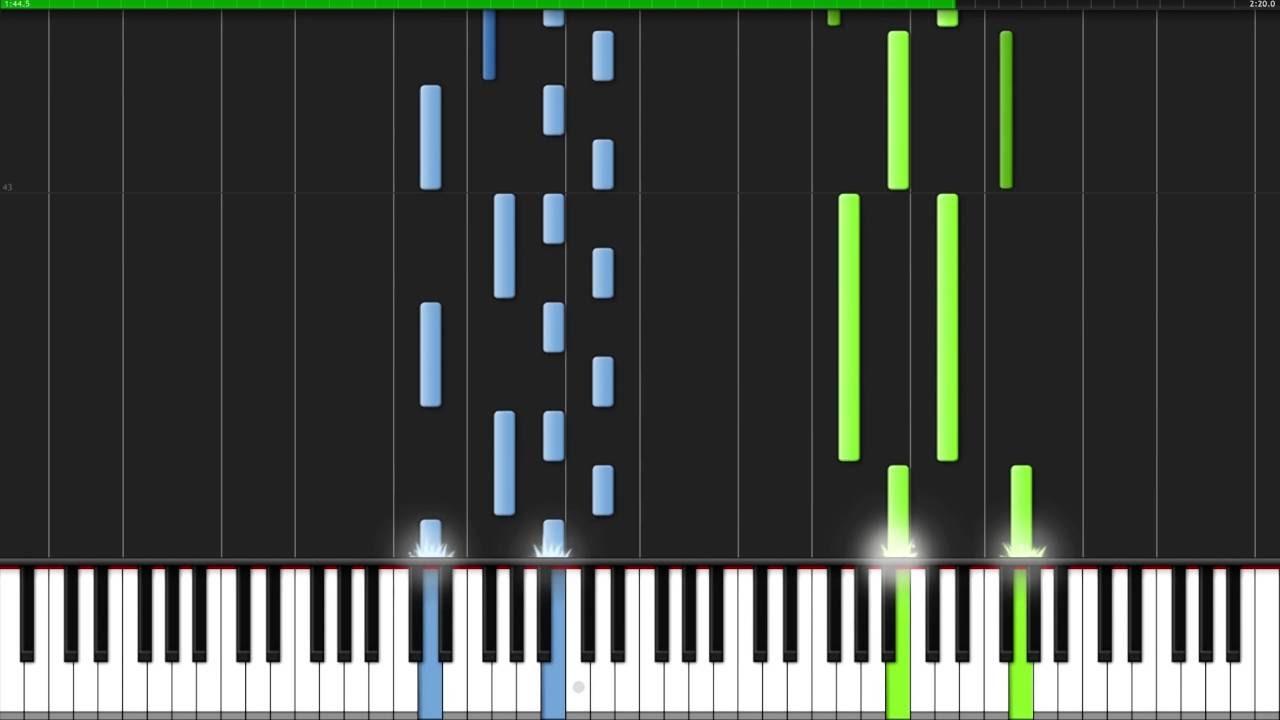 Comptine d'un autre été - Amélie [Piano Tutorial] (Synthesia)