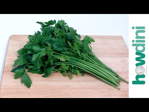 You've Been Chopping Parsley All Wrong