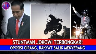 Stuntman Jokowi Terb0ngkar! Oposisi Girang, Rakyat Balik Menyer4ng!