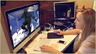 VLOG Left 4 Dead 2 по сети #4 Играют ✪ЭДВИН ✪МАМА ОЛЯ  | #Игры #IMac #Steam