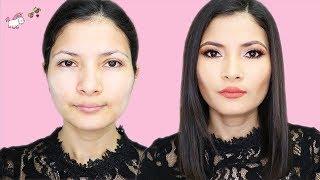 Maquillaje Para Cara Redonda 😉Rostro Delgado En Minutos 🦄 Bessy Dressy