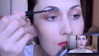 Как красить брови краской / fifafike-style