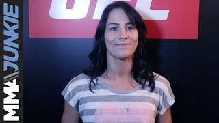 Jessica Eye full pre-UFC Fight Night 124 media scrum