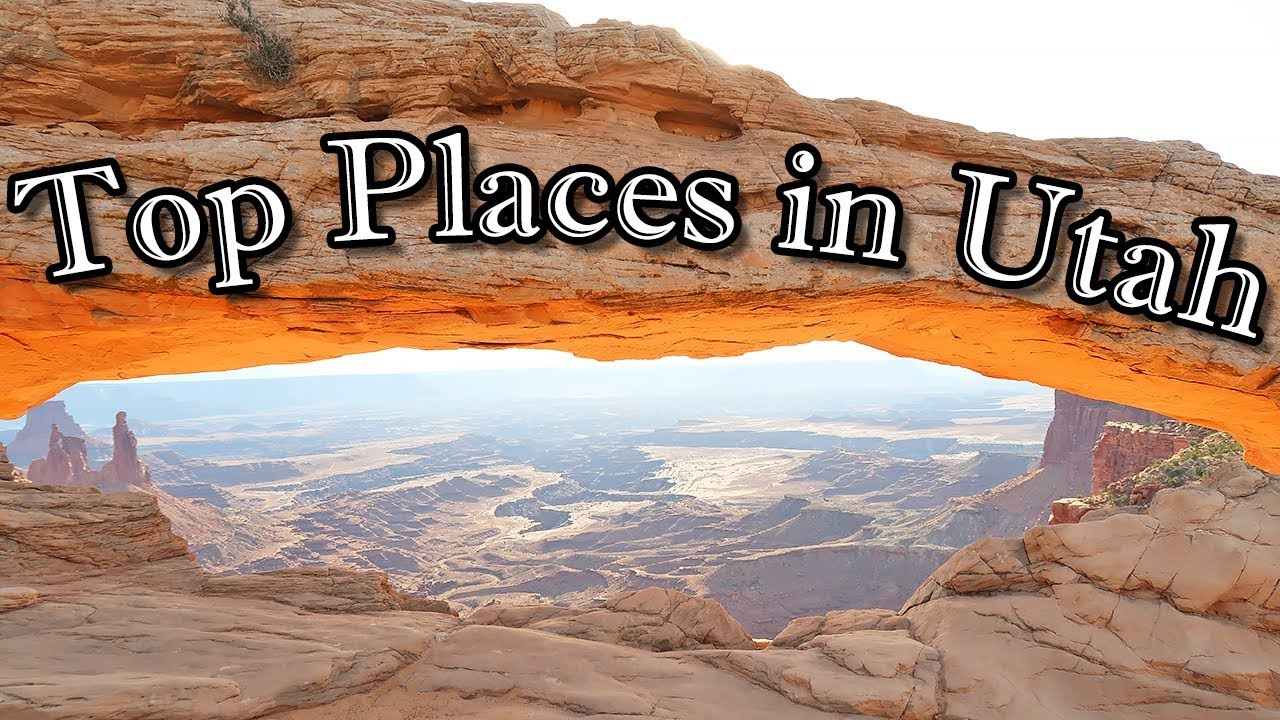 top places to visit in utah - youtube