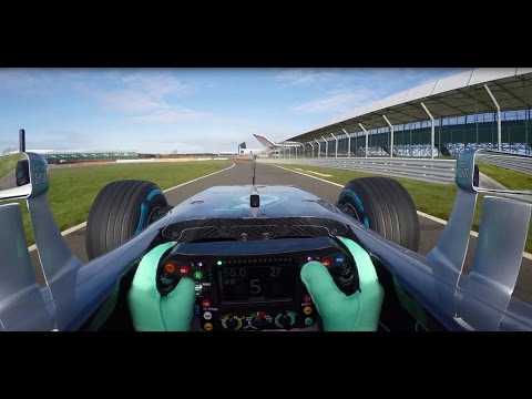 EXCLUSIVE!!! Onboard the 2016 Mercedes F1 Car + Live Commentary!
