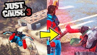 JUST CAUSE 3'S SECRET OBJECT! THE HIDDEN SCANNER MYSTERY!