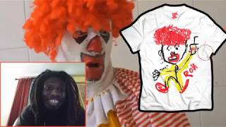"""Ronald McDonald GETS FIRED"" REACTION!!!"