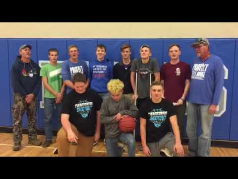 Creede Boys Basketball Video