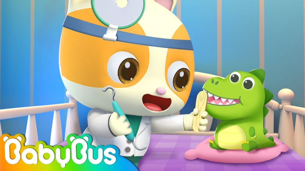 I'm A Little Doctor 🚑 | Pretend Play Song | Doctor Cartoon | Nursery Rhymes | BabyBus