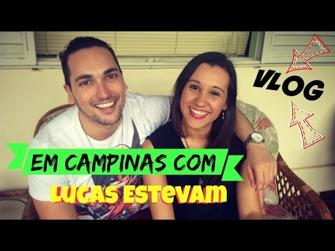 Vlog: Campinas com Lucas Estevam