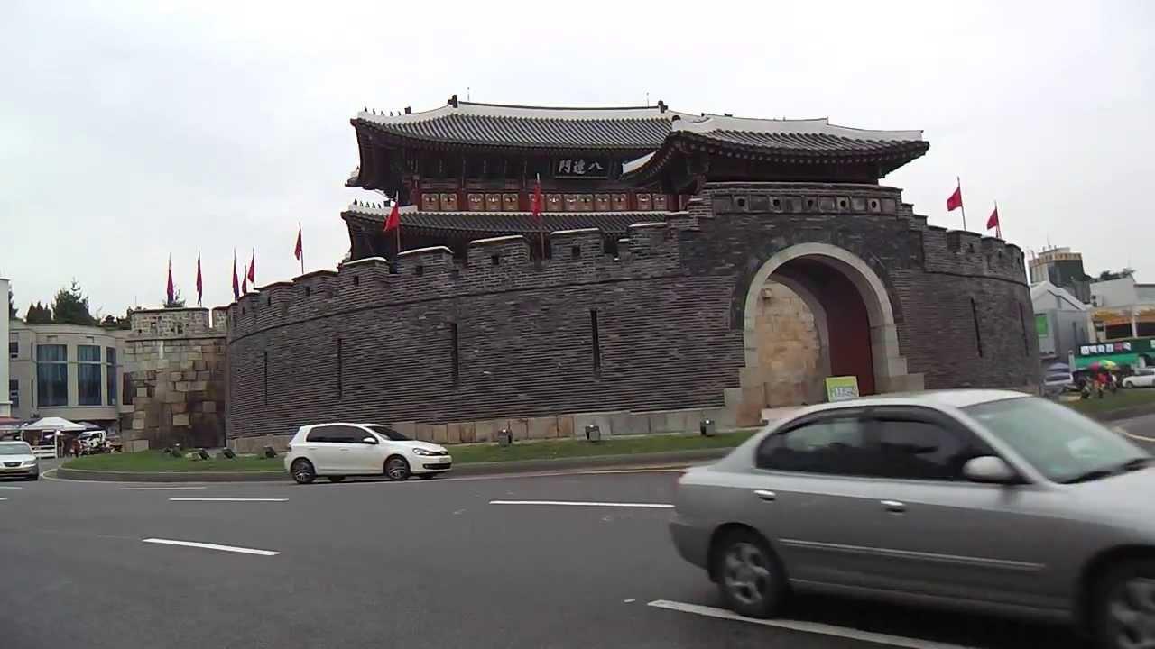 水原華城(八達門)~孤獨の旅(動畫レポート)~ - YouTube
