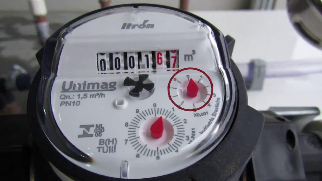 1577047dfae Vídeo do teste com hidrometro B (SEM) o Aquamax instalado - YouTube