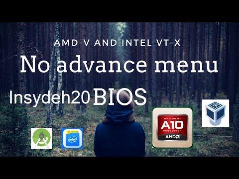 Enable Amd-v (virtualization) on Aspire E15 -Simple Steps