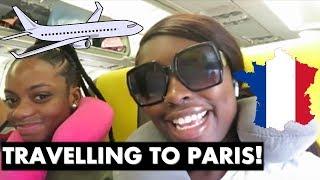 TRAVELLING TO PARIS VLOG! (PART 1)| COCOAIMSSK