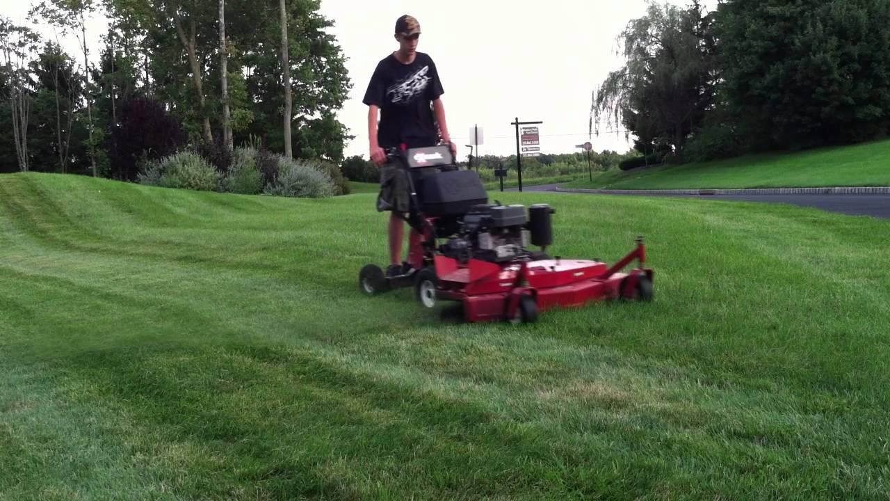 mowing lawn part 1